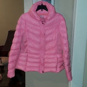 Hot Pink Puff Jacket